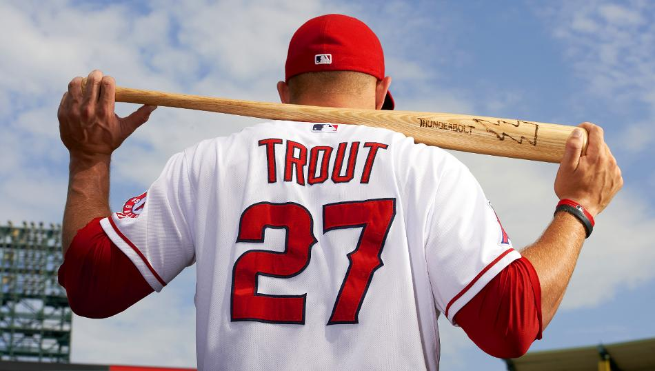 14 Mike Trout - best selling jerseys in mlb 2014