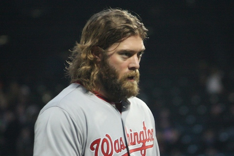 15 jayson werth beard - mlb beards facial hair 2014