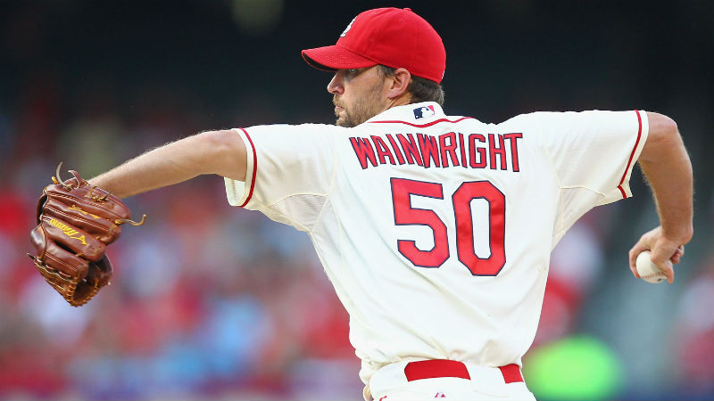 17 Adam Wainwright - best selling jerseys in mlb 2014