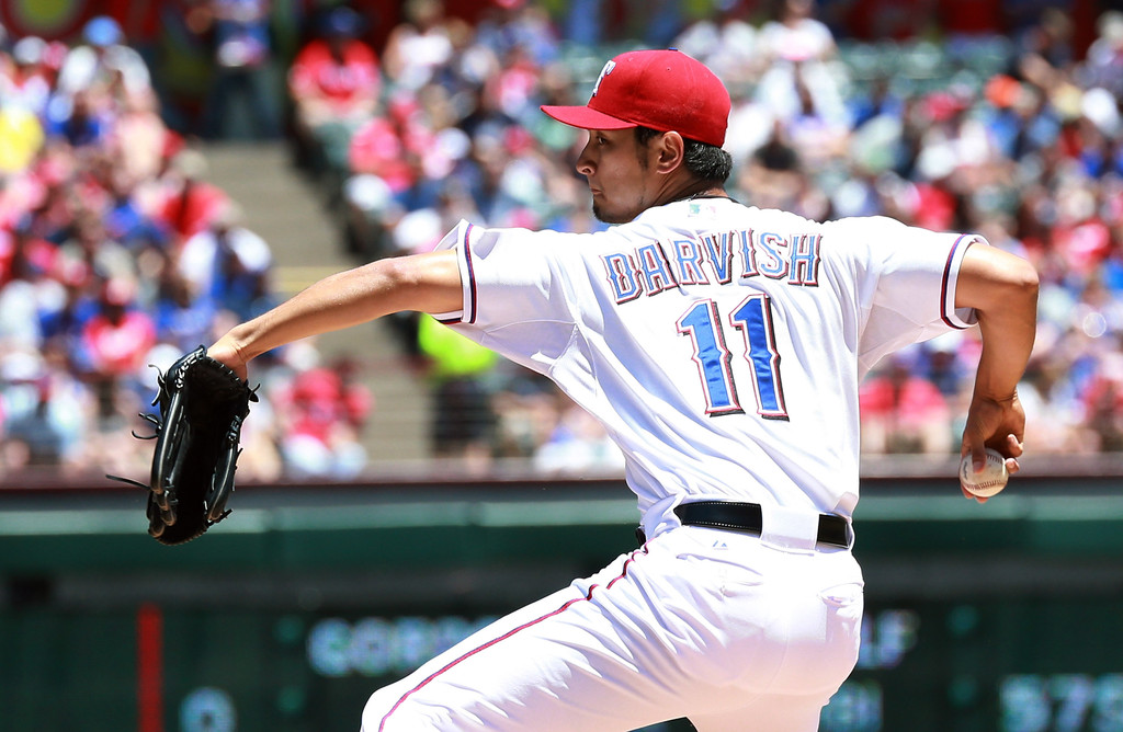 19 Yu Darvish - best selling jerseys in mlb 2014