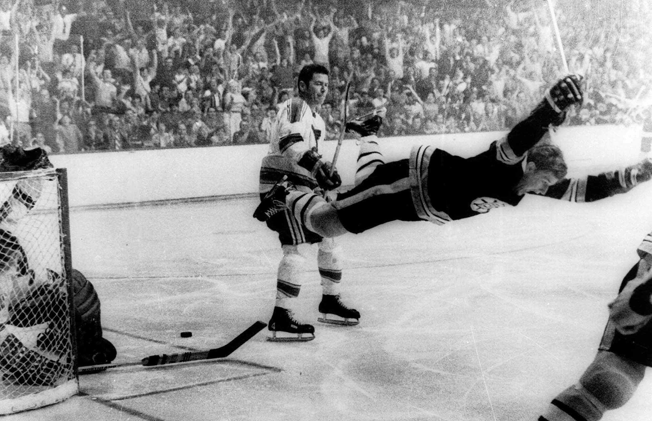 2 Bobby Orr goal 1970 Stanley Cup Finals - longest Stanley Cup droughts