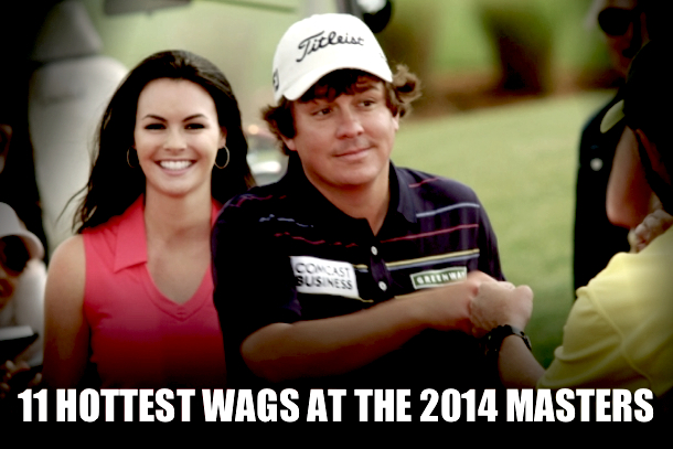 2014 masters wags