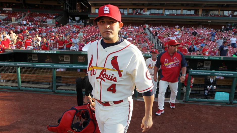 4 Yadier Molina - best selling jerseys in mlb 2014