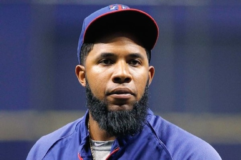 6 Elvis Andrus - mlb beards facial hair 2014