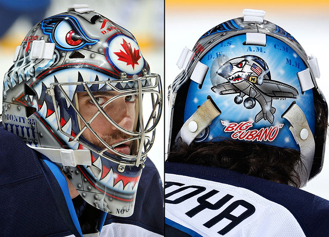 6 al montoya (winnipeg jets) - best goalie masks nhl 2013-14
