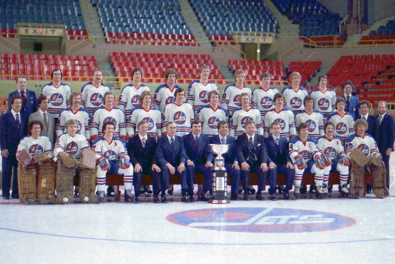 7 1979 Winnipeg Jets WHA champions - longest Stanley Cup droughts