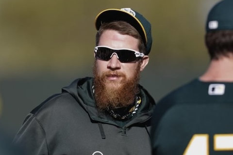 7 sean doolittle beard - mlb beards facial hair 2014