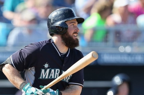 8 Dustin Ackley beard - mlb beards facial hair 2014