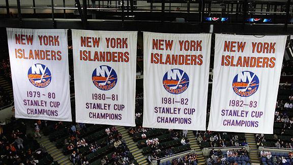 8 New York Islanders Stanley Cup dynasty - longest Stanley Cup droughts