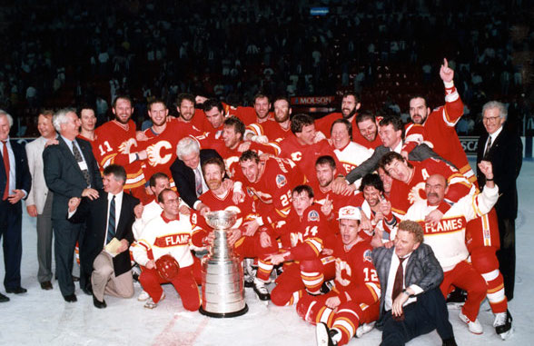 9 Calgary Flames Stanley Cup 1989 - longest Stanley Cup droughts