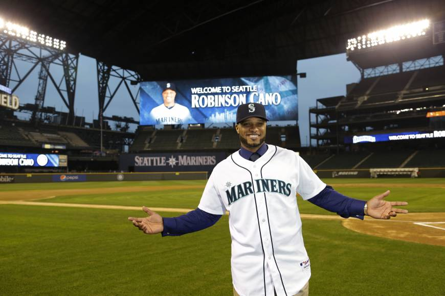9 Robinson Cano (Mariners) - best selling jerseys in mlb 2014