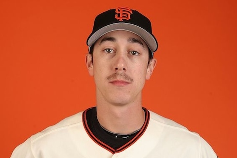 9 tim lincecum trash stash - mlb beards facial hair 2014