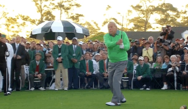 Arnold Palmer ceremonial drive masters