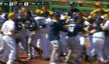 Brewers and Pirates Benches Cleared During Brawl (Video)