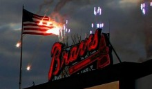 Atlanta Braves Set American Flag on Fire at Home Opener (Pic)