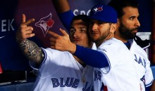 Jays' Brett Lawrie Hit a Homer and Celebrated With Selfie and Mustache Poses (GIFs)