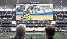 Conan O'Brien Plays Video Games on AT&T Stadium's Giant Screen (Video)