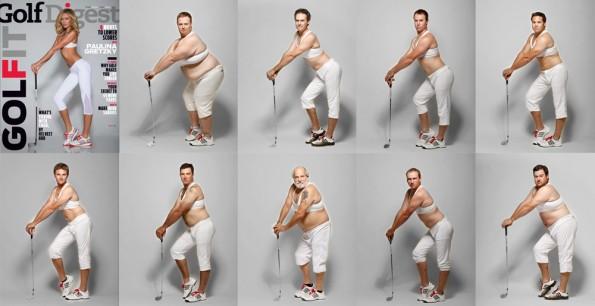 Cy Cyr's Golf Digest Parody