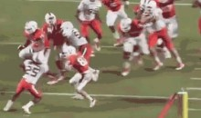 Miami Hurricanes LB Denzel Perryman Decleats Running Back at Spring Game (Video + GIF)