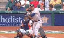 Derek Jeter Gets Beaned in First At-Bat of 2014 Farewell Season (GIF)