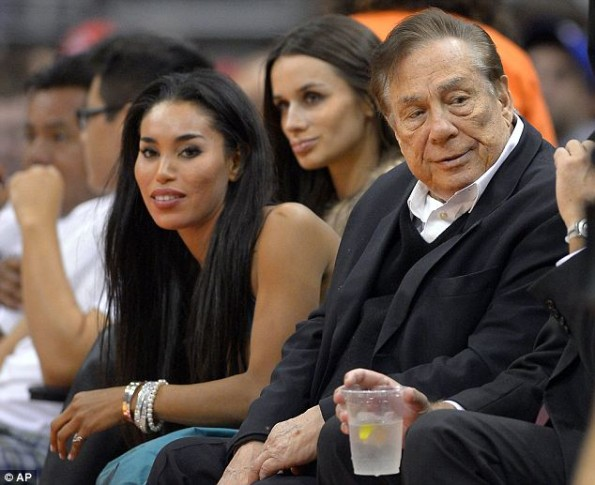 Donald Sterling With Girlfriend