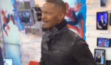 Jamie Foxx Shows Off His LeBron James Impersonation on 'Good Morning America' (Video)