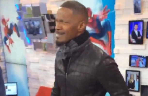 Jamie Foxx LeBron impersonation