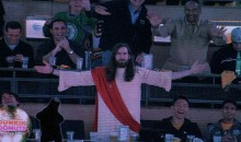 Jesus Gets Ejected From Easter Bruins Game (Video)