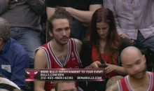 Awesome Joakim Noah Doppelganger Spotted at Bulls-Timberwolves Game (Photo)
