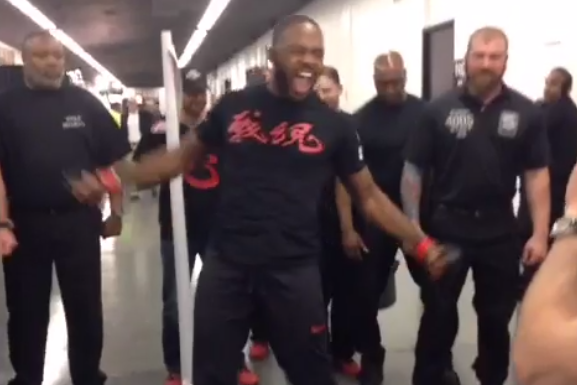Jon Jones' Ray Lewis Dance