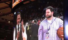 Nick Cannon Gets Booed Relentlessly by Knicks Fans (Video)