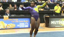 LSU Gymnast Keeps Scoring Perfect 10s with Hip-Hop Floor Routines (Video)