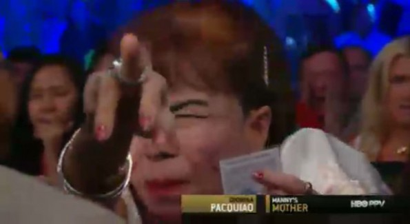 Manny Pacquiao's Mom