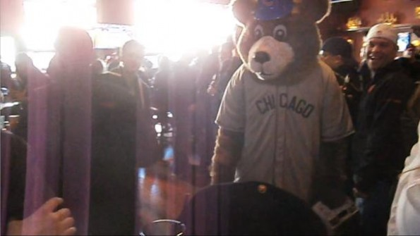 Mascot Punches Guy