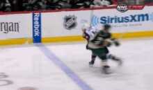 Matt Cooke Will Likely be Suspended for This Dirty Knee on the Avs' Tyson Barrie (GIFs)