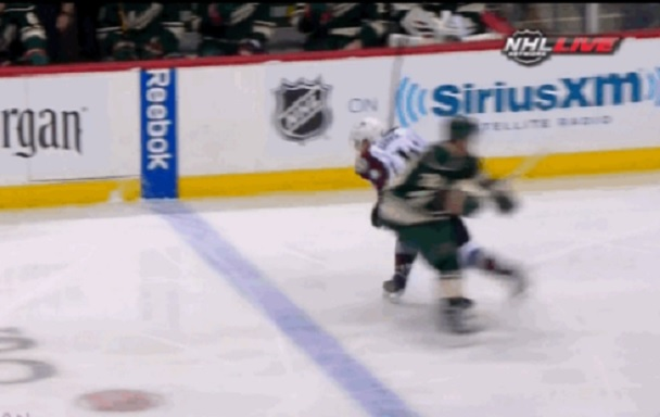 Matt Cooke knee