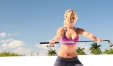 Check Out These Sexy Behind-the-Scenes GIFs From Paulina Gretzky's 'Golf Digest' Photo Shoot