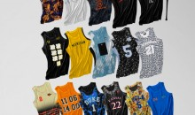 Artist Rebrands Jerseys of Sixteen College Basketball Teams (Gallery)