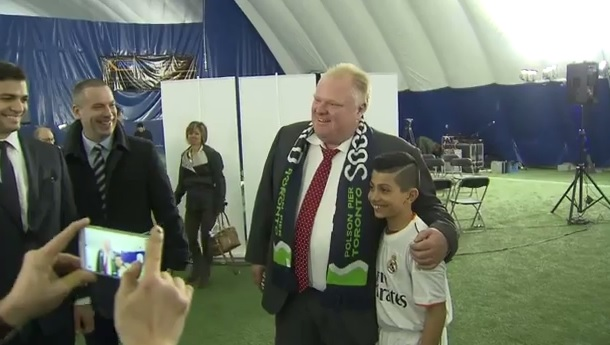 Rob Ford soccer