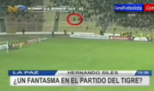 Camera Catches Ghost Sprinting Through Crowd During Copa Libertadores Soccer Match (Video)
