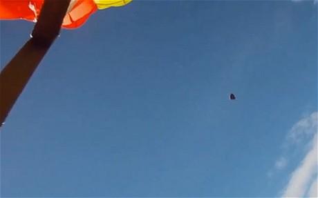 Skydiver Missed By Meteorite