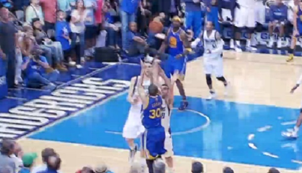 Steph Curry game-winning three-pointer