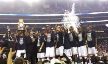 UConn Men's Basketball Team Defeats Kentucky to Claim the 2014 NCAA Tournament Title (Video)