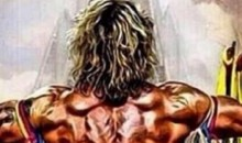 Scott Hall Tweeted This Incredible Painting of The Ultimate Warrior in Heaven (Pic)