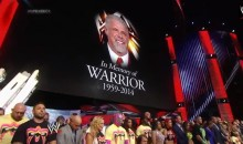 WWE Opened 'Monday Night Raw' With a Tribute to The Ultimate Warrior (Video)