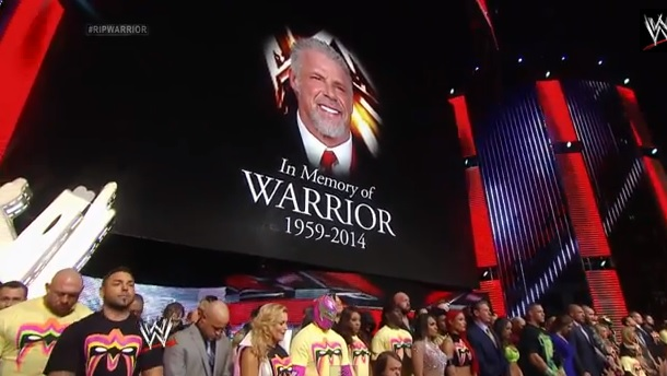 Ultimate Warrior tribute