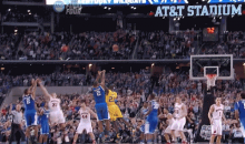 Here Are Both of Aaron Harrison's Game-Winning Three-Pointers in One GIF
