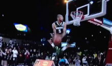 Look at This Ridiculous Dunk from Michigan State's Adreian Payne at the College Basketball Slam Dunk Contest (GIF)
