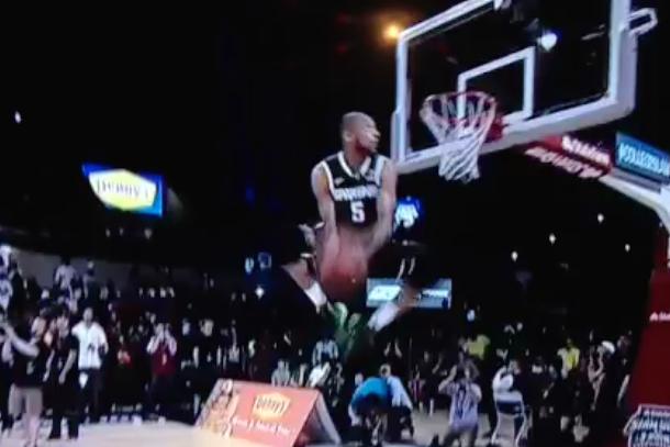 adreian payne slam dunk contest