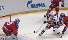 Lokomotiv's Geoff Platt Scores an Incredible Juggling Goal in KHL Playoffs (Video)